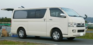 TOYOTA HIACE LONG VAN SUPER GL