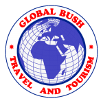 GLOBAL BUSH TRAVEL AND TOURISM AGENCY LOGO